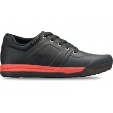 2FO DH FLAT MTB SHOE BLK/RED - 42
