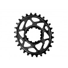 ABSOLUTEBLACK Chainring Sort Oval GXP MTB Direct M