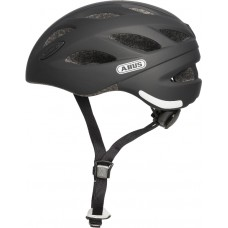 ABUS Hjelm Lane-U velvet black 52-57 cm - M - Sort