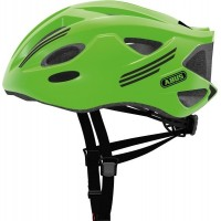 ABUS Hjelm S-Cension, neon green - 58-62 cm - L - Grøn