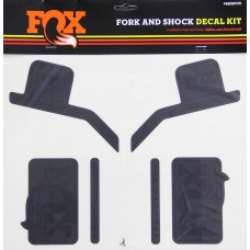 Fox Decal 16 Heritage, Fork & Shock Kit - Stealth  - Sort