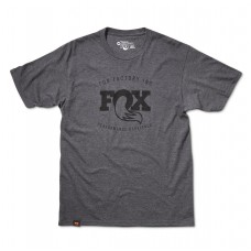 FOX Men's Ride 3.0 Tee Athletic Heather  - S - Grå