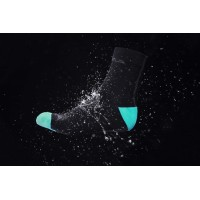 Hummvee Waterproof Long Sock - L/XL - Sort