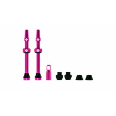 MUC-OFF Tubeless Valve Kit 44 mm - 44 - Pink