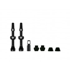 MUC-OFF Tubeless Valve Kit 44 mm - 44 - Sort