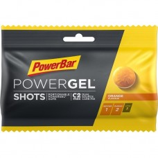 PowerBar Orange vingummi Powergel shots 9 stk