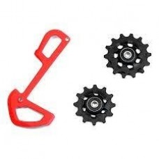 SRAM Pulley wheels Eagle X01 Std bearing Red Plate