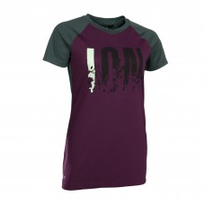 Tee SS Letters Scrub Amp Wms Pink Isover - M